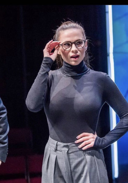 Hayley Atwell See thru top